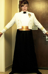 at the hilton getting ready for the ball in my us navy mes flickr