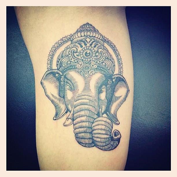 Ganesha Tattoo Via Meliciousss88 Cryptikmovement Ganesh Flickr