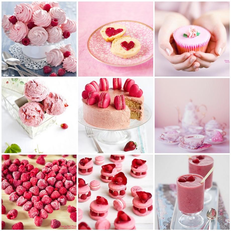 Pink Food Photography | 1. Meringues and ruspberries (365 ...