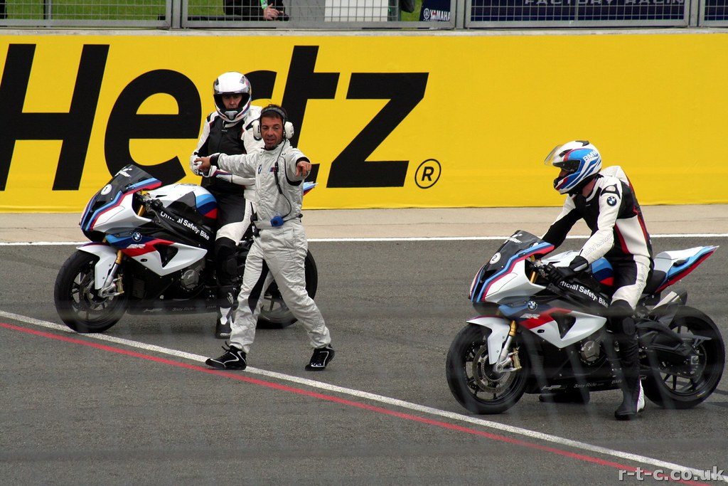 The MotoGP BMW safety bikes | BMW S 1000 RR bikes. | Timothy Young | Flickr