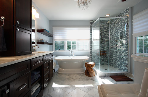 Modern Master Bathroom The Interior Designs