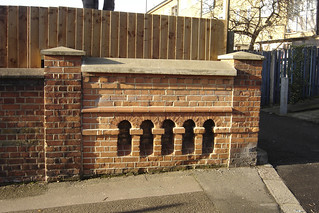 Surviving parapet in Vincent Road | by A River - Runs Through It