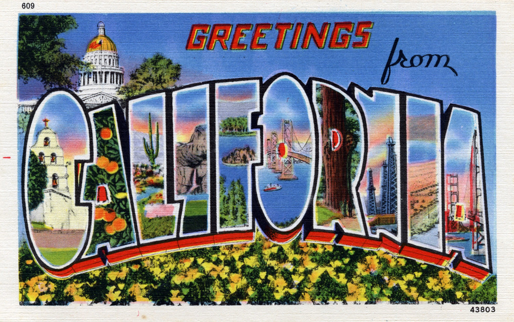 Greetings from california large letter postcard producti flickr greetings from california large letter postcard by shook photos m4hsunfo Gallery