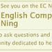 English Companion Ning Badge