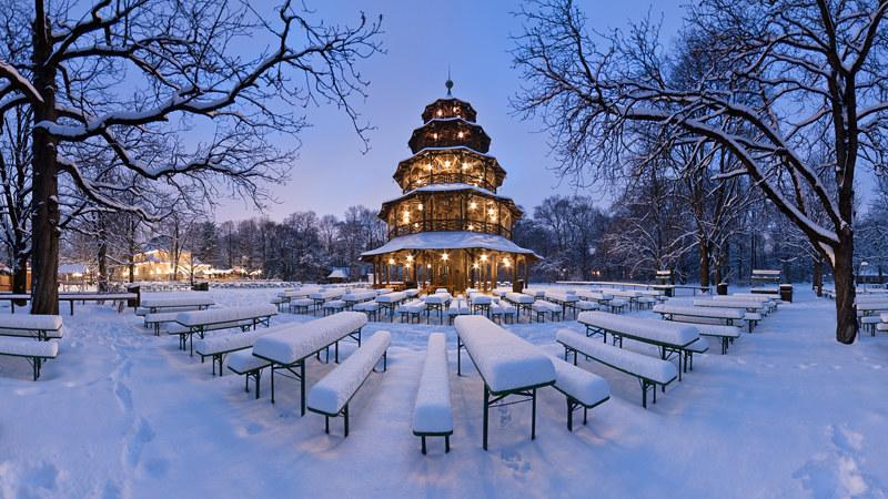 "chinesischer turm, englischer garten / ""chinese tower"" | flickr, Garten ideen"