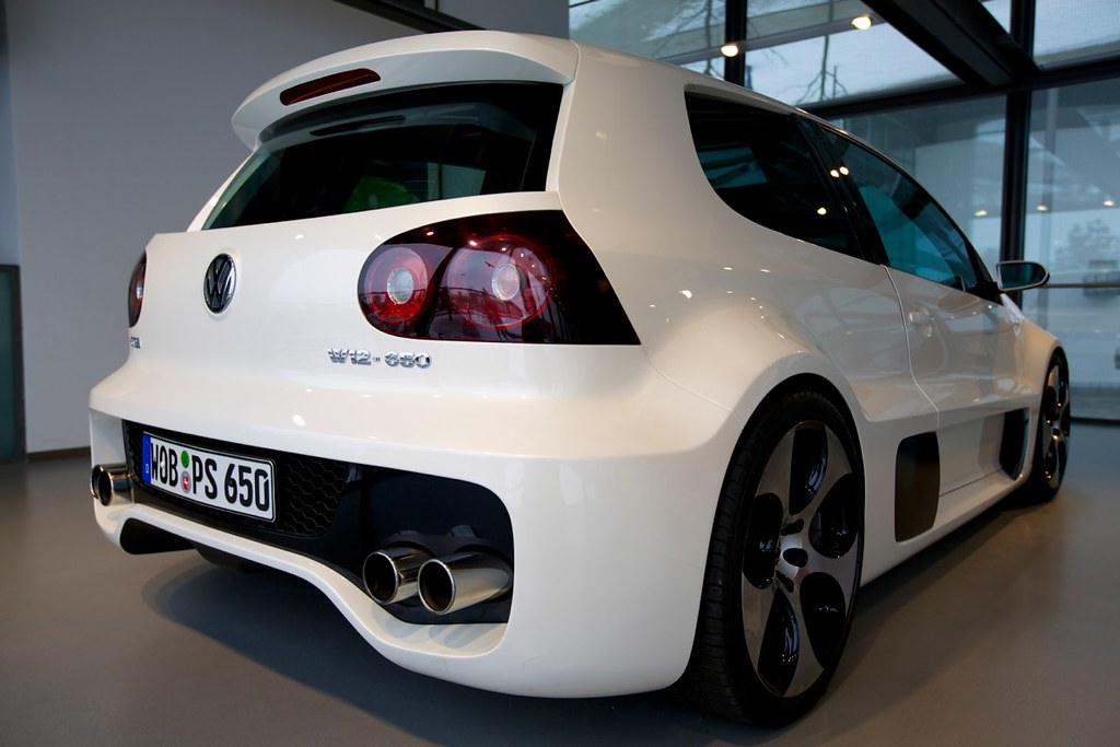 a mkv golf gti fitted with a w12 turbochrged engine produc. Black Bedroom Furniture Sets. Home Design Ideas