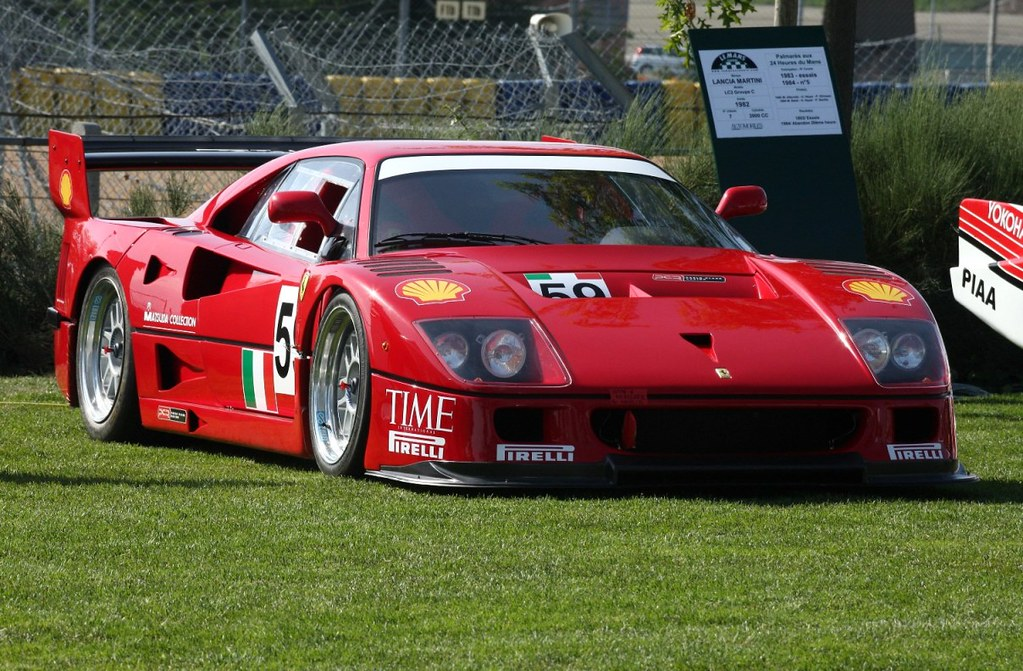 ferrari f40 lm gte ferrari f40 lm gte pierre roiesnel. Black Bedroom Furniture Sets. Home Design Ideas