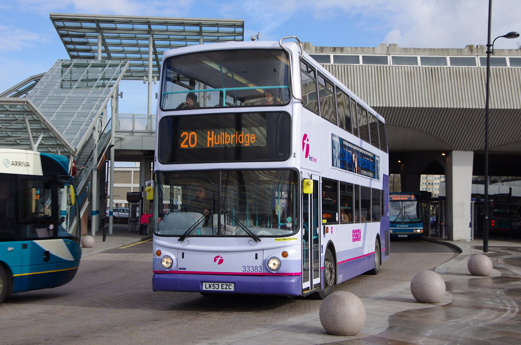 first buses in southend