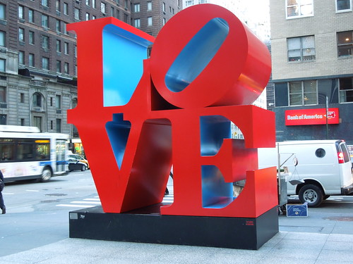 New York, NY : Love Sculpture in NY photo, picture, image (New ...