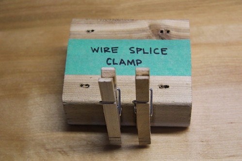Wire splice clamp | by JD and Beastlet