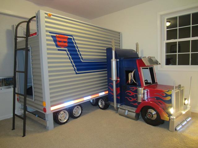 Brayden S Optimus Prime Transformer Bed Final Dave Scha