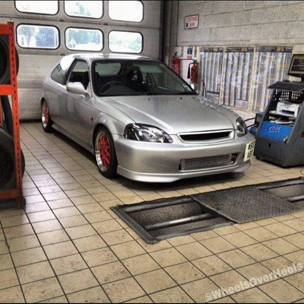Boosted ek! @cainebassett #honda #civic #hatchback #coupe ...