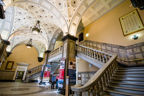 Foyer Stairs Qld : Foyer and staircase brisbane city hall