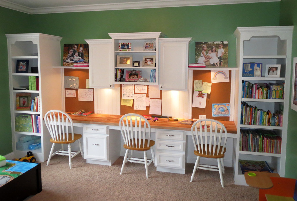 Kids office kids office space designed by my husband and for Office playroom