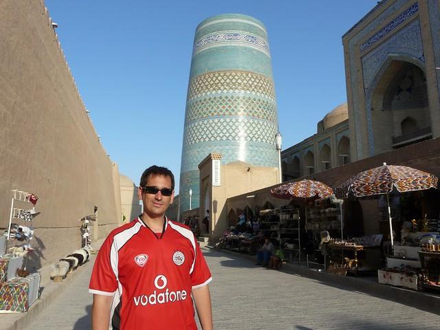 Sele en Khiva (Uzbekistán)