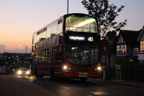 Metroline West VW1765 on Route 483, Wembley Hill Road