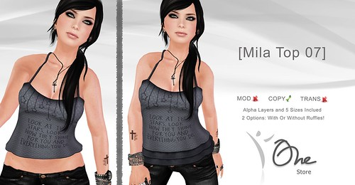 [Mila Top 07] | by Julyanne Sands :: One Store ::
