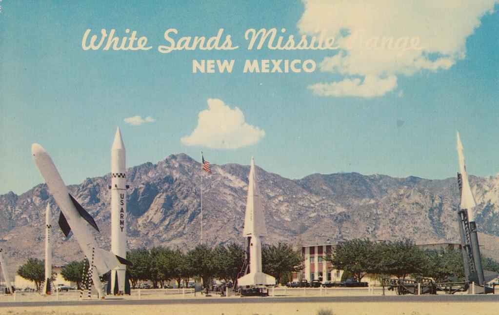 Resultado de imagen de white sands missile range new mexico