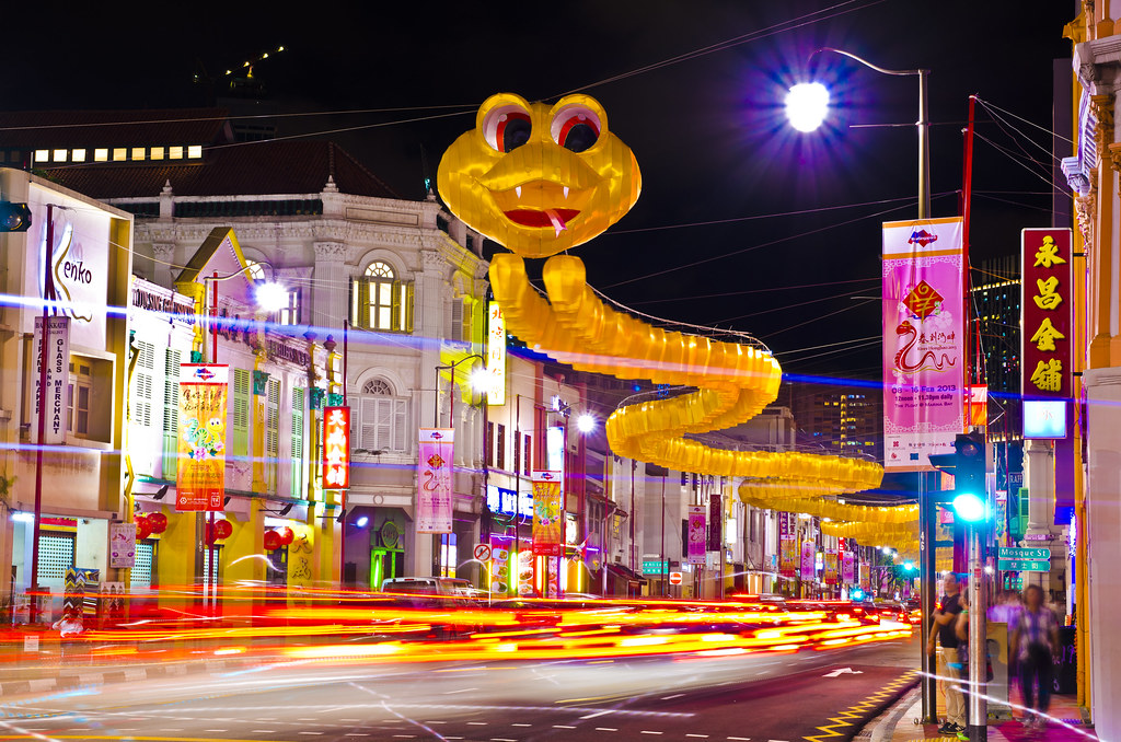 ... Singapore   Chinatown Chinese New Year Decoration | By Wang Guowen  (gw.wang)