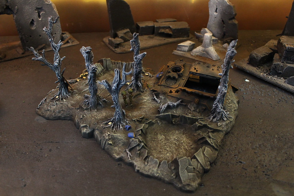 Warhammer 40K Terrain | Blue Table Painting | Flickr