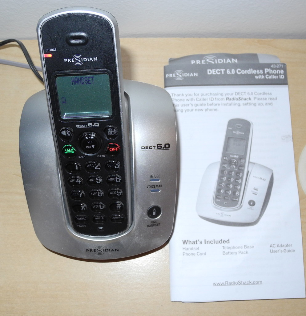 presidian dect 6 0 cordless phone with caller id 10 obo flickr rh flickr com