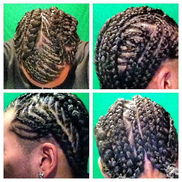 @FullerHairSNS #greatjob #custom #cornrows #braids #weave ...