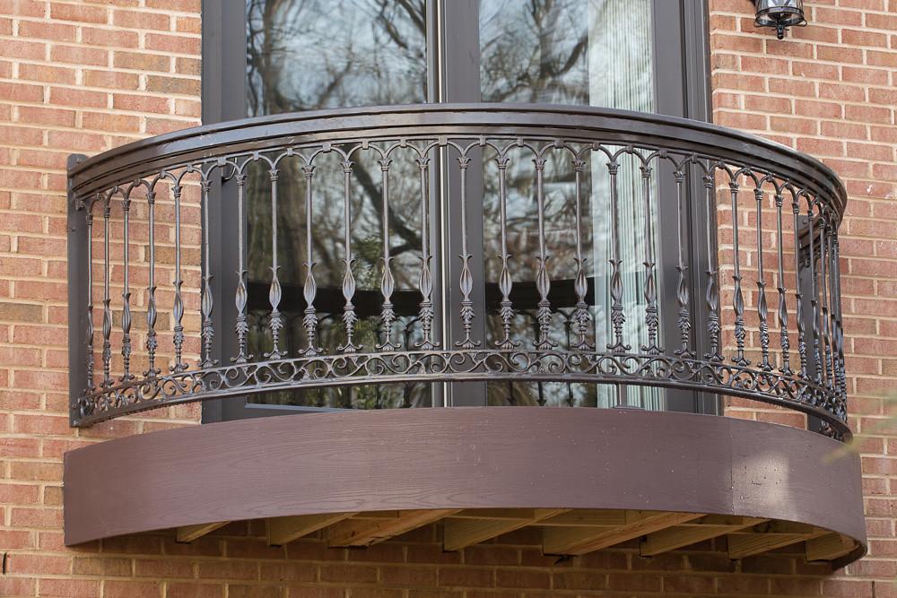 Garage addition side balcony shot 2 custom for Balcony addition