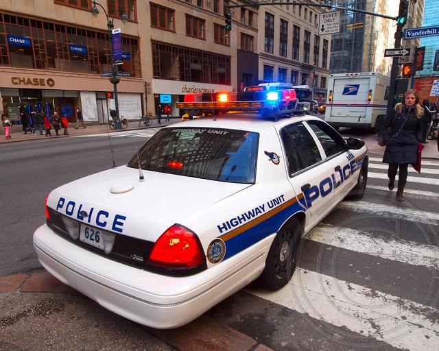 mta highway unit police patrol car grand central terminal flickr. Black Bedroom Furniture Sets. Home Design Ideas
