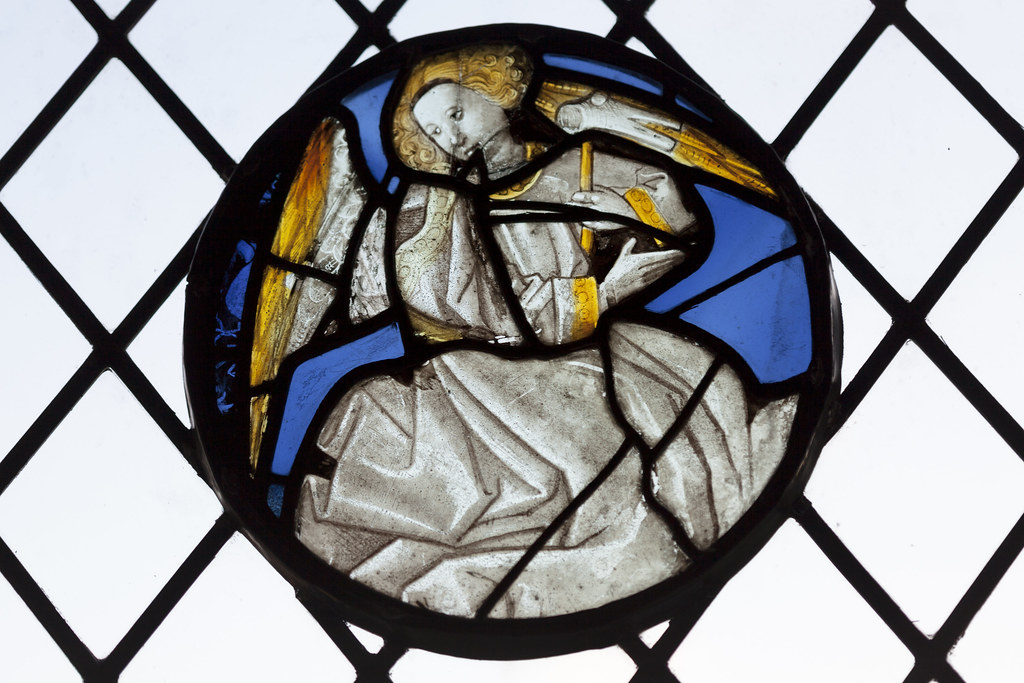 Angel Bearing A Symbol Of Christs Passion Holy Trinity C Flickr
