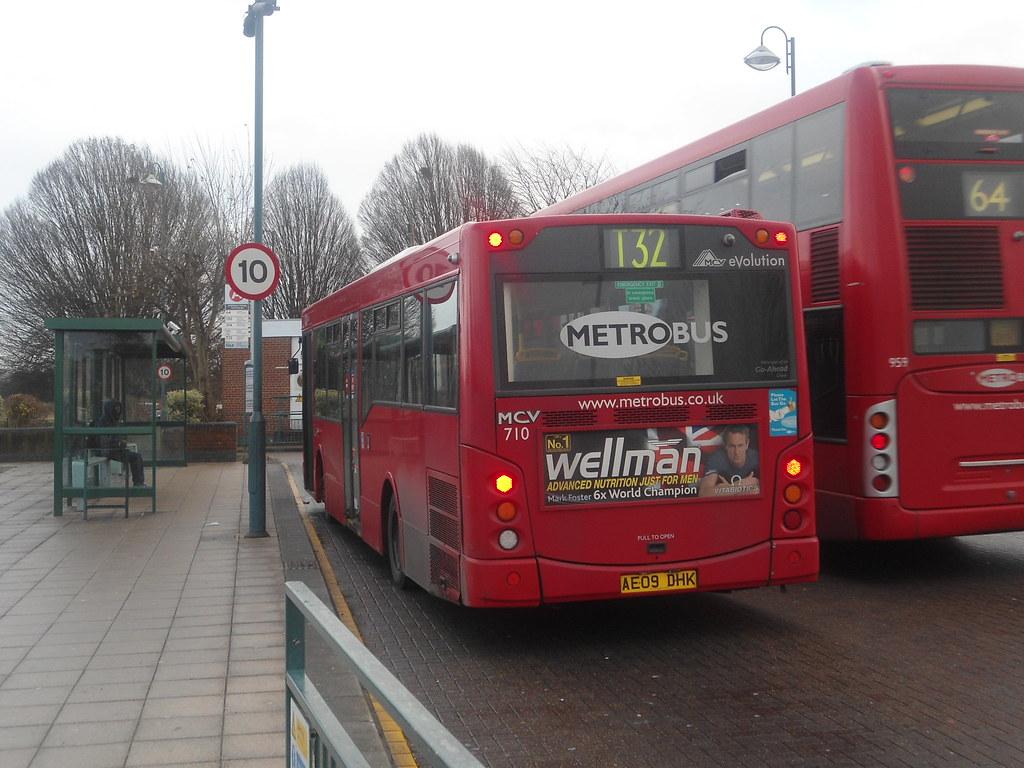 metrobus mcv evolution (710 - ae09 dhk) t32 | metrobus route… | flickr