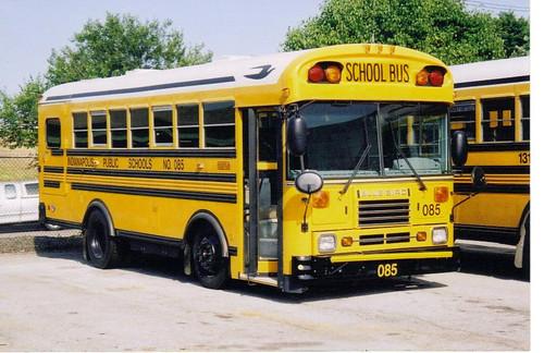 Blue Bird Bus >> INDIANA BLUE BIRD BUS - INDIANAPOLIS PUBLIC SCHOOLS | Flickr