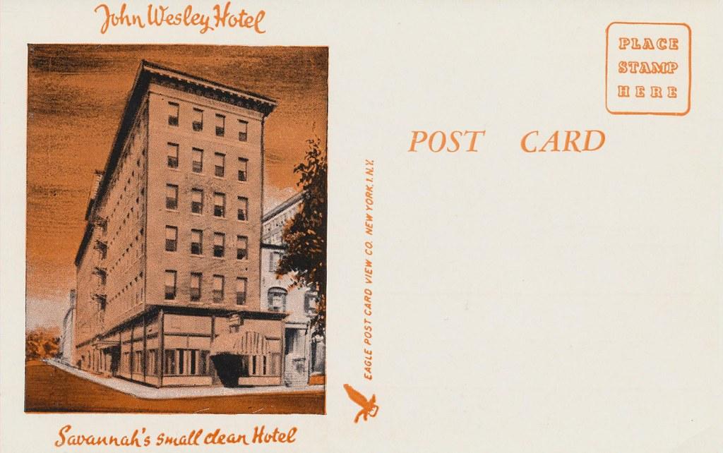John Wesley Hotel - Savannah, Georgia