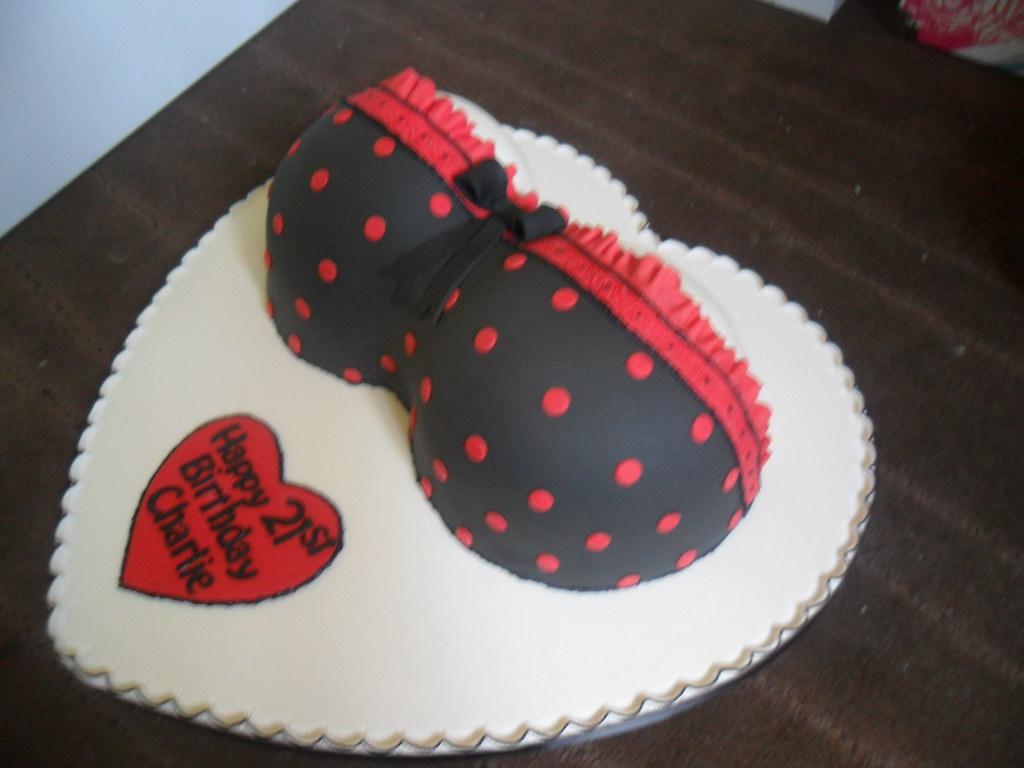 Adult Bikini Top Boobs Birthday Cake Elizabeth Flickr