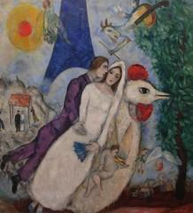 Marc Chagall, Les mariés de la Tour Eiffel   Gaia Saviotti   Flickr