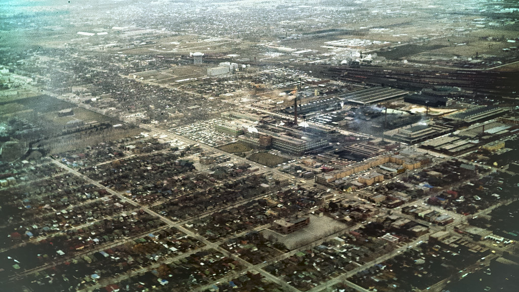 New Toronto 1961 - aerial view Goodyear Tire plant .. | Flickr