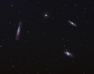 Leo Triplet March 2013 | by BudgetAstro