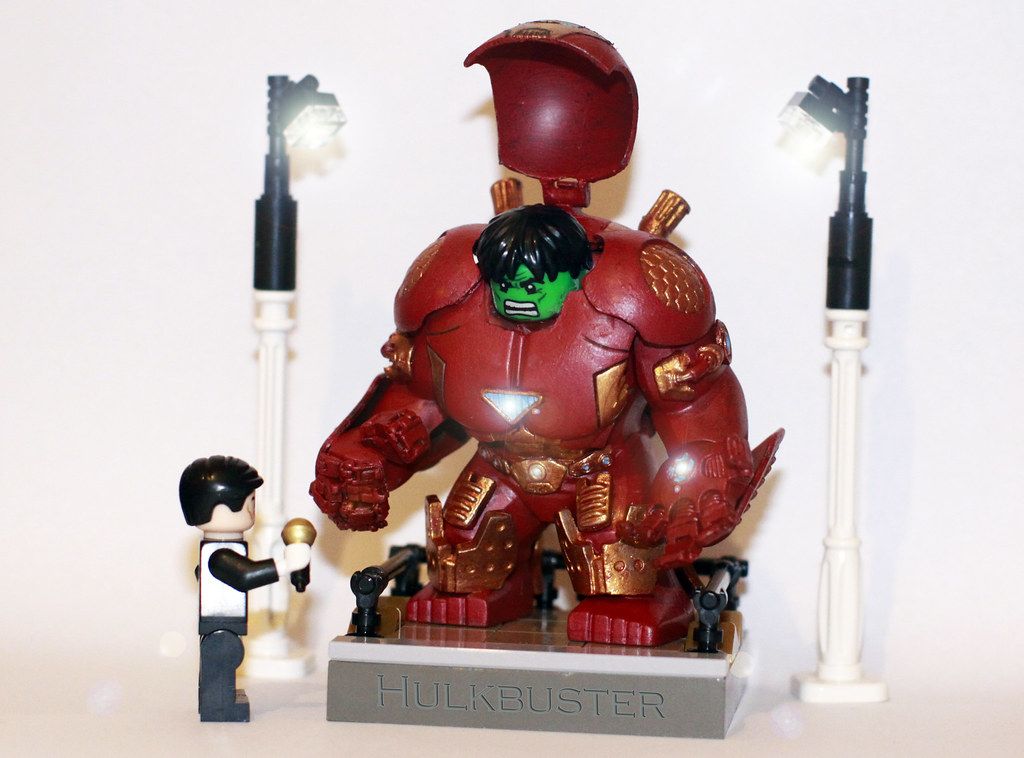 Lego Hulk Buster Body Function Like Every Iron Suit