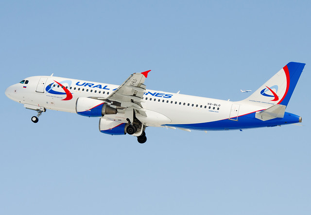 VQ-BLO  Ural Airlines Airbus A320-214