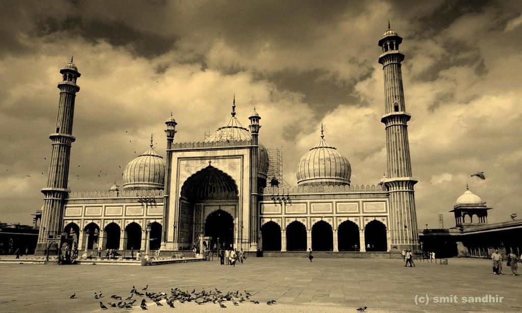 Jama Masjid Delhi Smit Sandhir Flickr