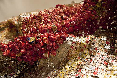 Gravity and Grace Monumental Works by El Anatsui, Brooklyn Museum 09 | by Eva Blue