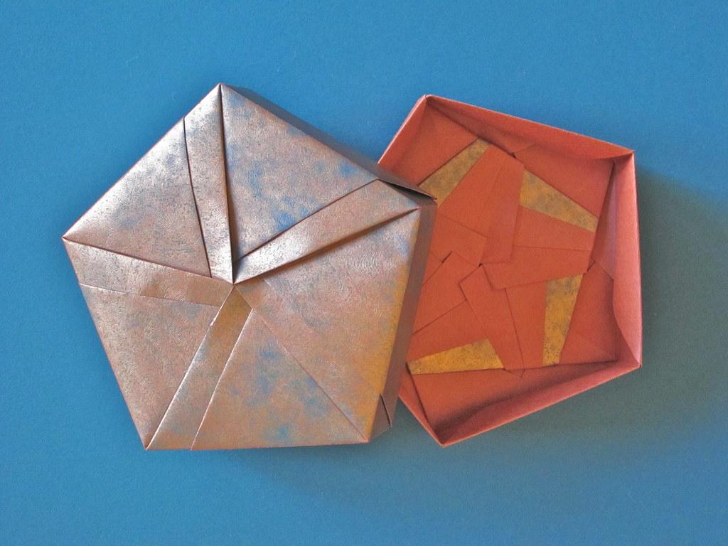 "Pentagon Box | Creator: Tomoko Fuse Diagram: ""Gift Box ... - photo#27"