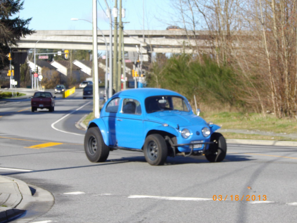 Volkswagen Beetle Baja Bug This Is Odd Looking Saw It Fro Flickr