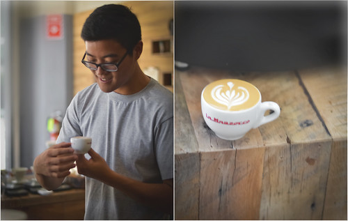 Barista Eugene Lee ~ Café Dulcé Pop, Downtown Los Angeles | by r.e. ~