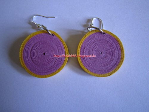 how to make paper earrings water resistant