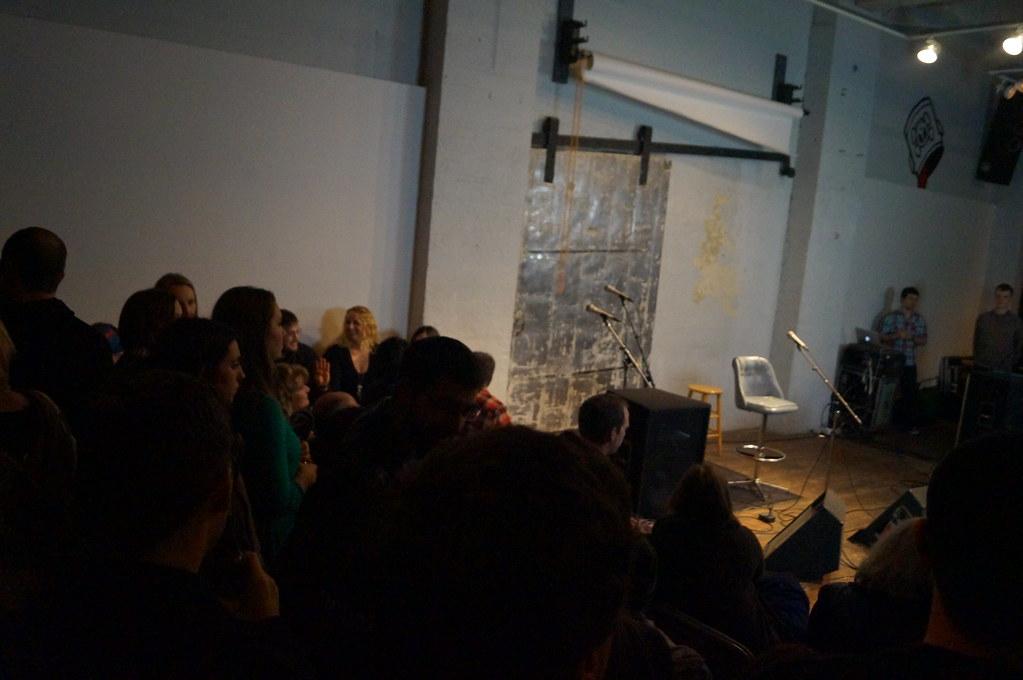 Seattle Living Room Shows With Damien Jurado Preshow Flickr