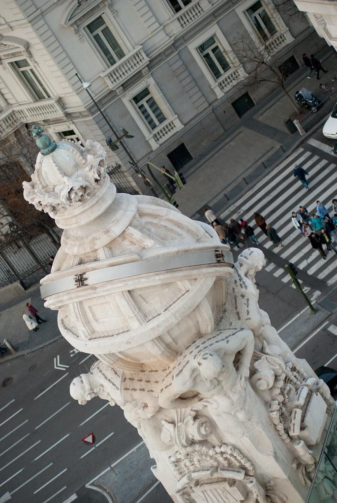Madrid Desde El Palacio De Cibeles Viviendo Madrid Flickr