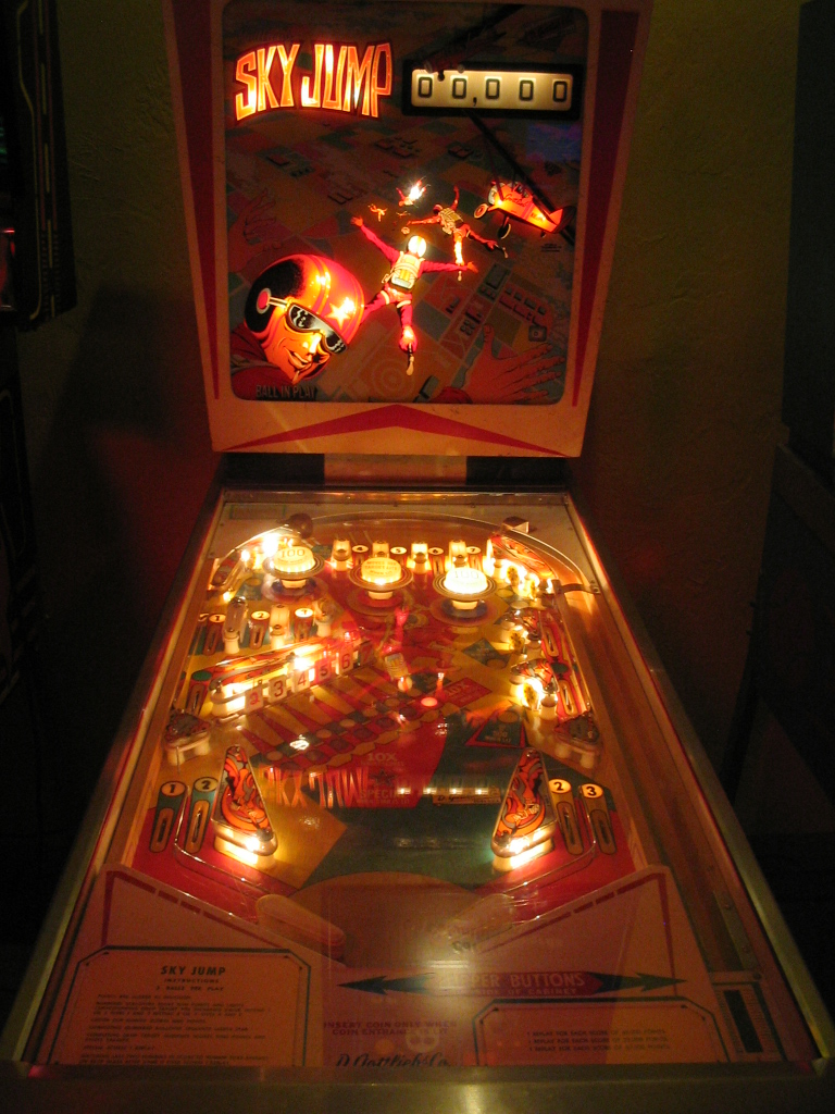Sky Jump Pinball Machine Img5820 Images From Fun Spot And Flickr