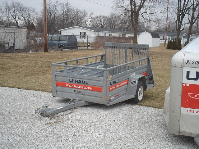 Rent small uhaul trailer - Imode series sylvania stereo