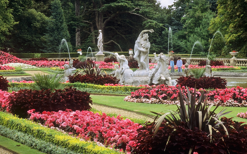 ... Waddesdon Manor Gardens, Buckinghamshire, England | Fountain In  Victorian Gardens (9 Of 30