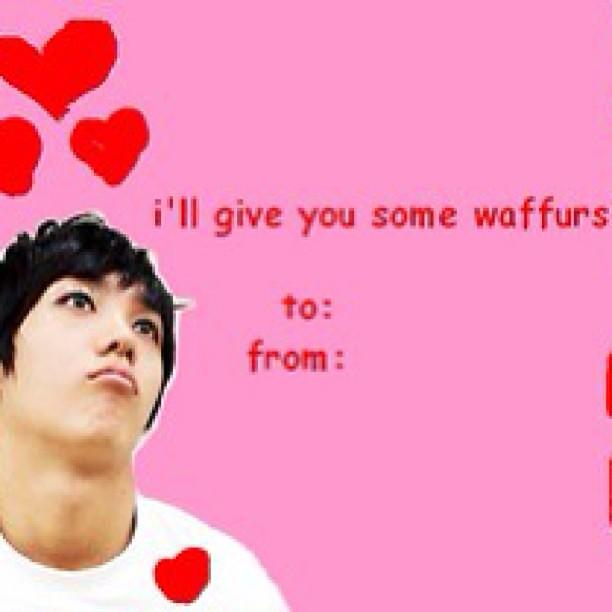 Mirs Gonna Make Me Some Waffurs Xd Kpop Valentines Day Car Flickr